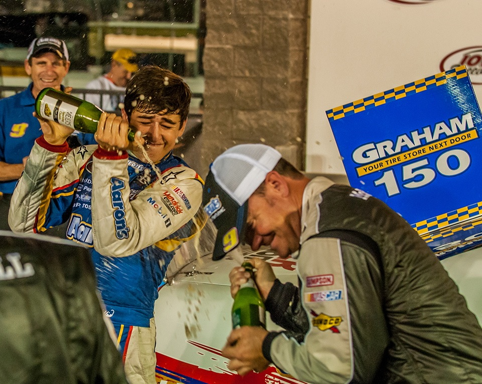 First K&N Pro Cup Series Win