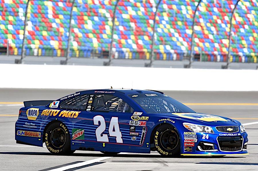 #24 Daytona 500 Pole Winner (2016)