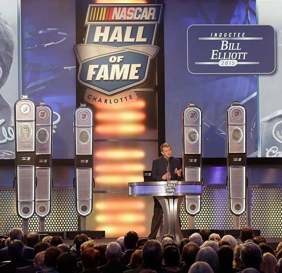 Induction into NASCAR Hall of Fame