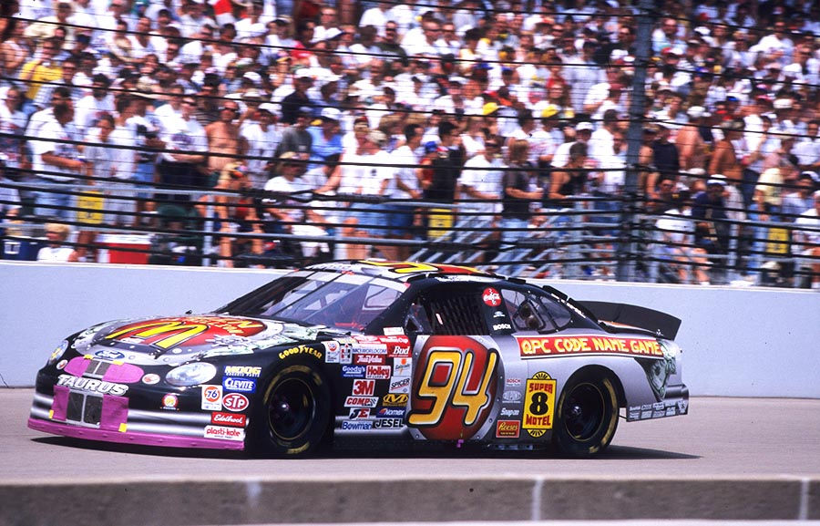 McDonald's QPC Code Name Game #94 Ford (1999)